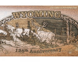Sold Out - Wyoming 125th Anniversary High Grade Rifle